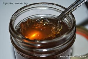 Sugarless Cinnamon Jelly is perfect for Trim Healthy Mama and Low Carb lifestyles.