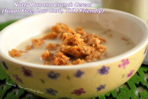 Nutty Banana Crunch Cereal