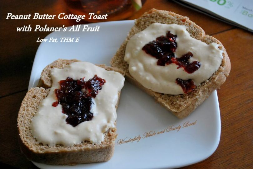 Peanut Butter Cottage Toast