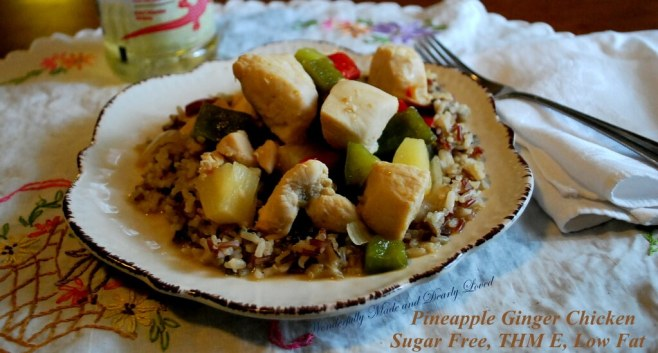 Pineapple Ginger Chicken