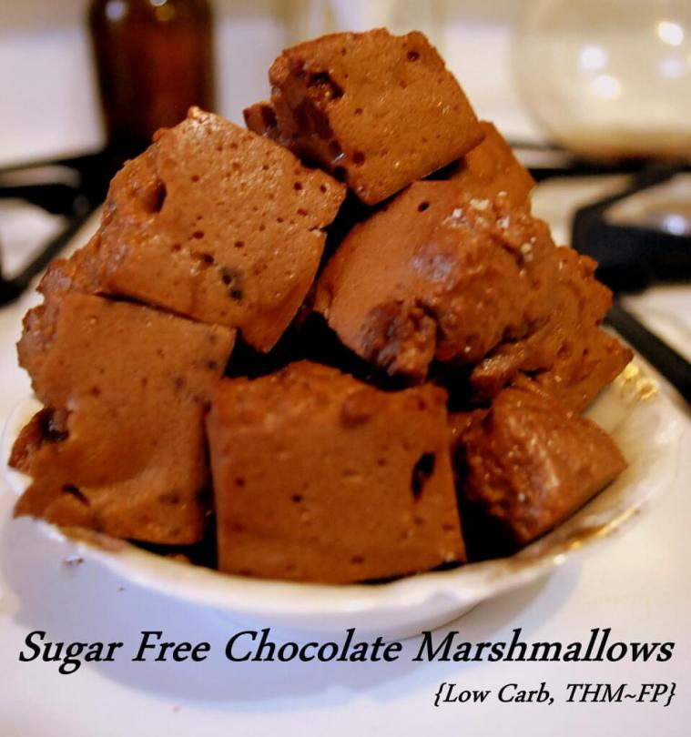 Sugar Free Chocolate Marshmallows