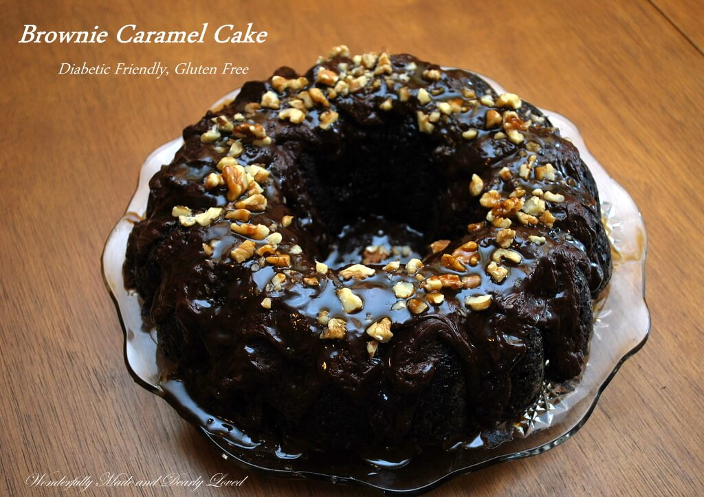 Brownie Caramel Cake Wonderfully Made And Dearly Loved