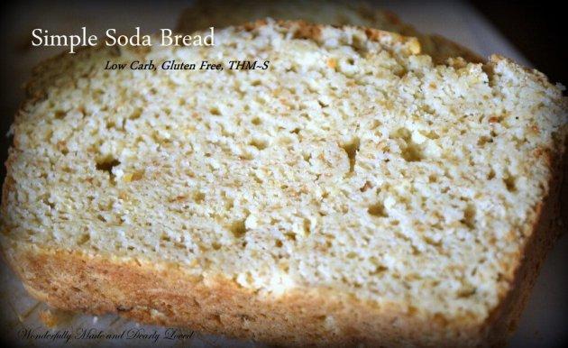 Simple Soda Bread, Slice