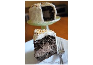 Sugar Free Chocolate Hazelnut Mini Cake {Low Carb, Gluten Free, THM~S)