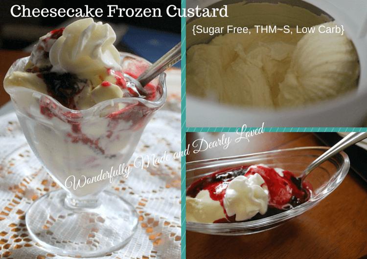 Sugar Free Cheesecake Frozen Custard