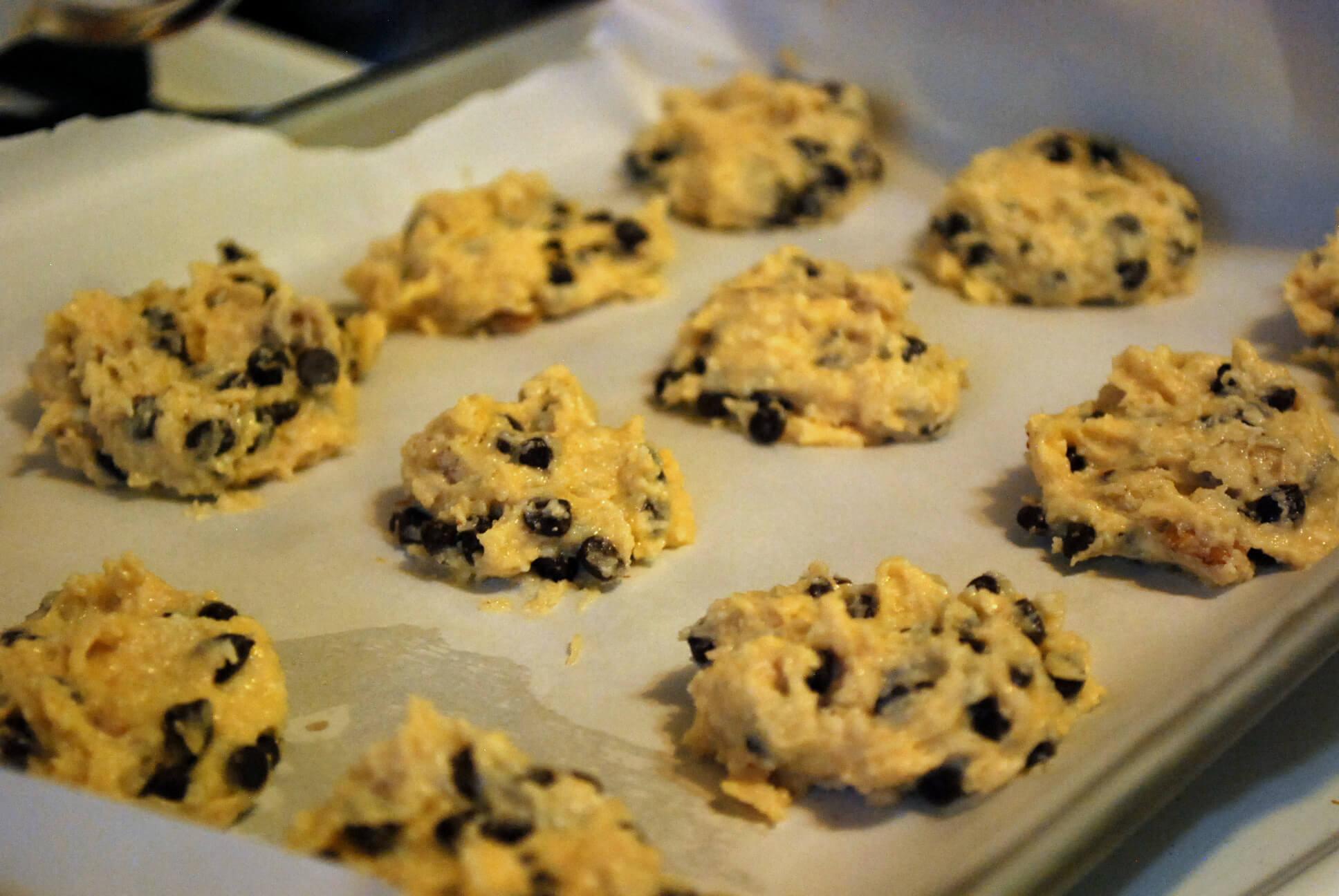 Chocolate Chip Cookies (Sugar Free, Low Carb) - Wonderfully Made ...