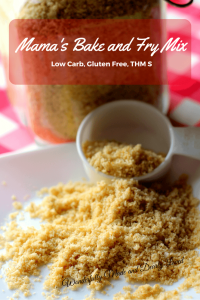 Mama's Bake & Fry Mix (THM S, Gluten Free, Low Carb)