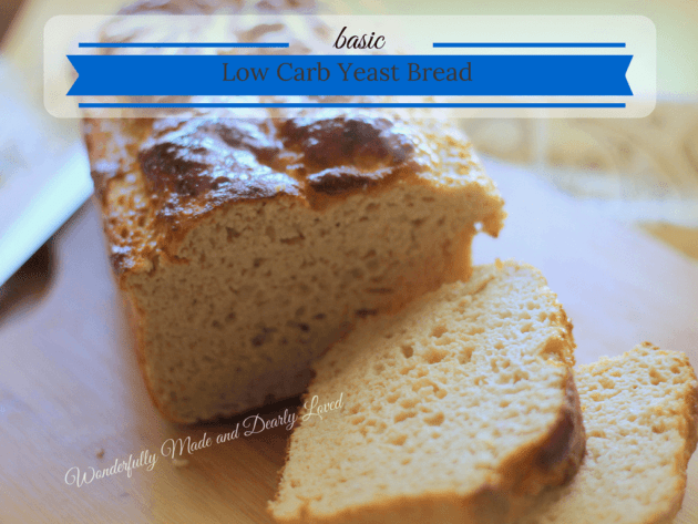 Basic Low Carb Yeast Bread (THM S, Diabetic Friendly)