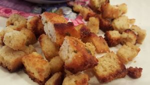 Low Carb Croutons