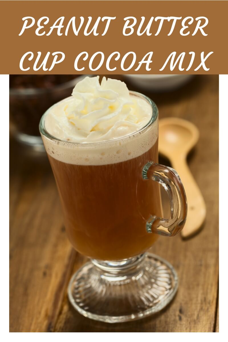 Healthy Peanut Butter Cup Cocoa Mix