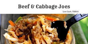 Beef and Cabbage Joes