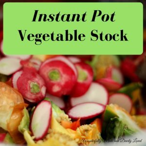 Instant Pot Vegetable Stock