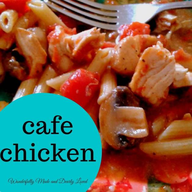 Cafe Chicken (THM S, E, FP)