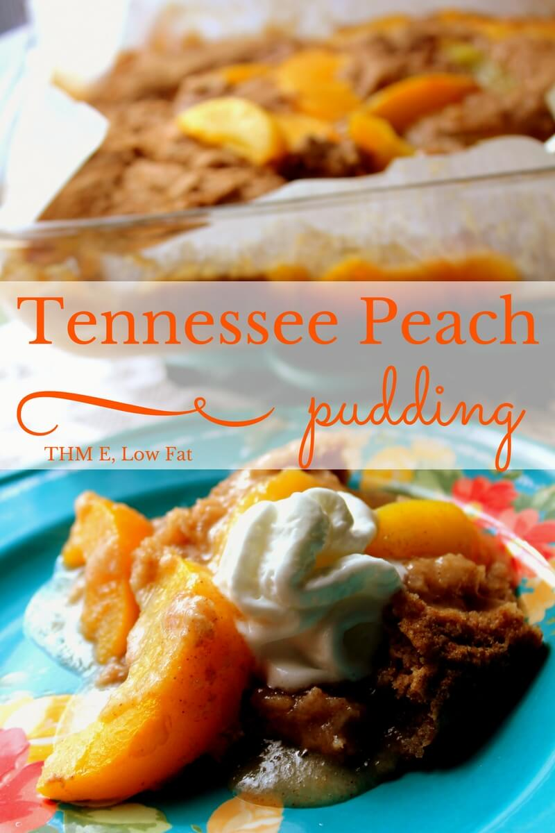 Tennessee Peach Pudding (THM E, Low Fat)