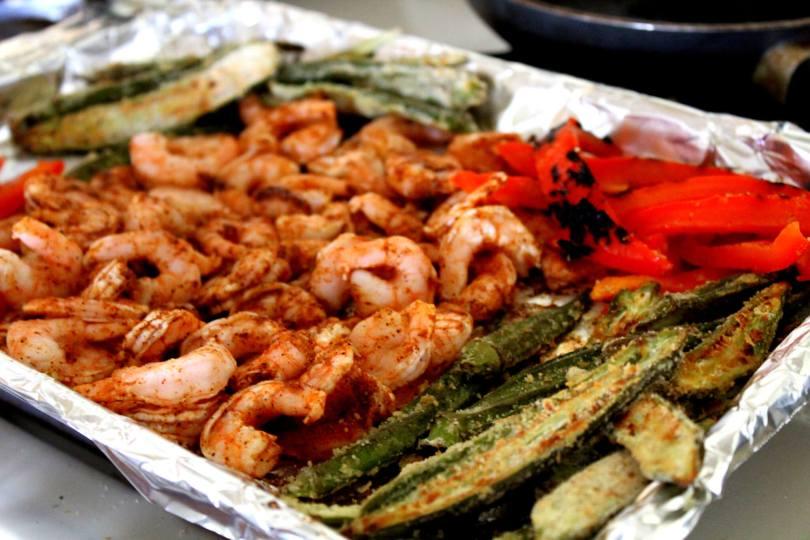 Sheet Pan Shrimp Creole (THM S, Low Carb)