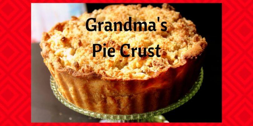 Grandma's Pie Crust (THM S, Low Carb)