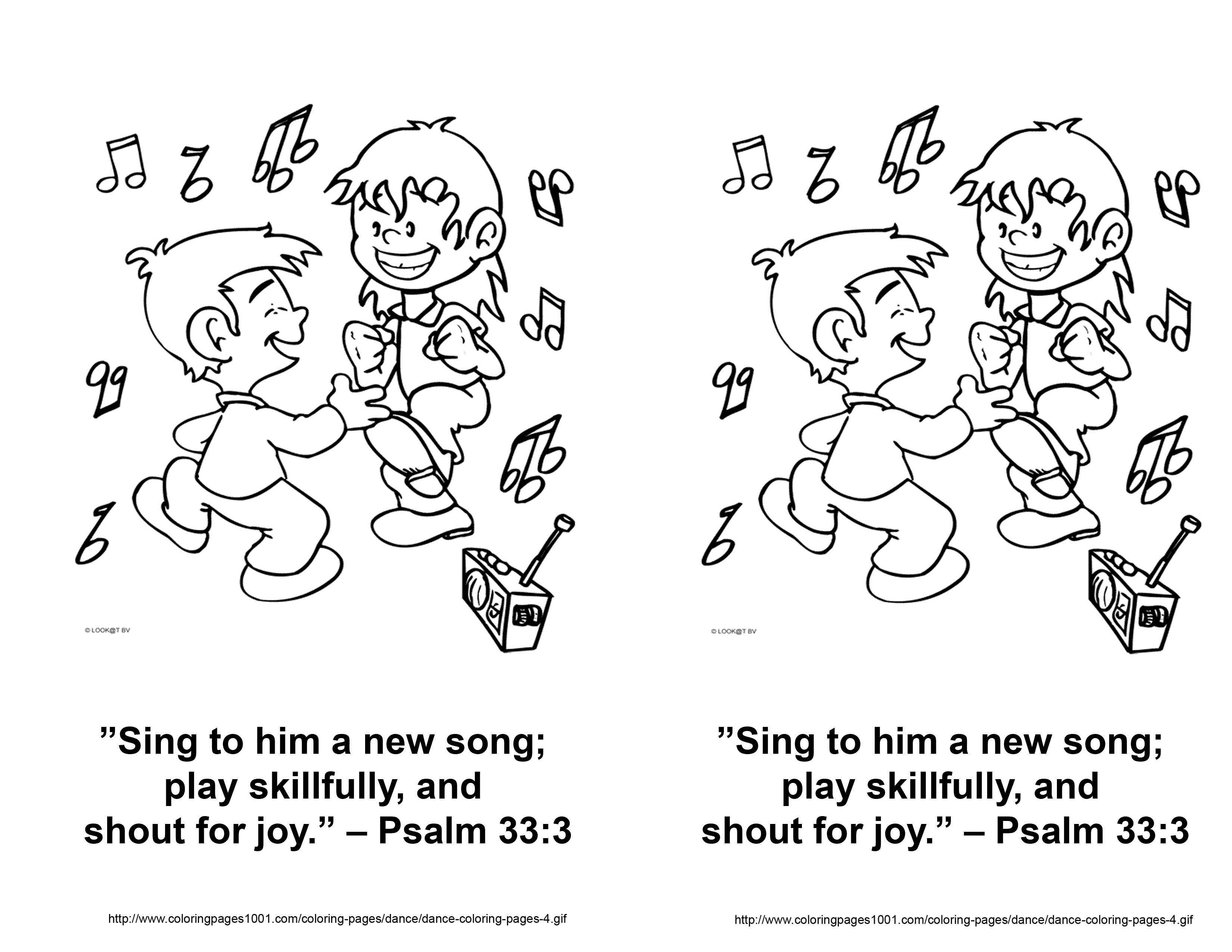 Free psalms 1 coloring pages