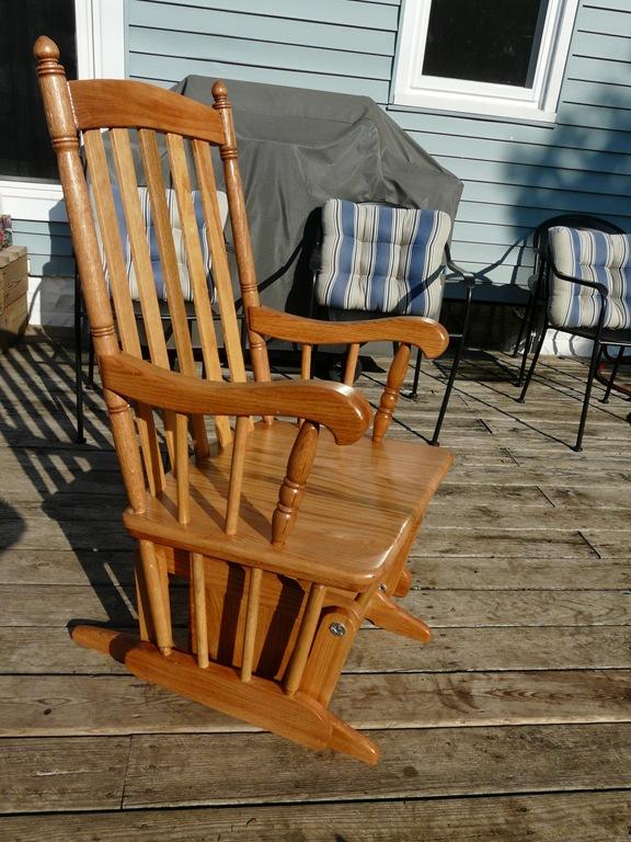Build Glider Rocking Chair Plans Free DIY Woodturning