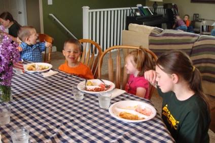 Garrett, Toby, Norah and Emma