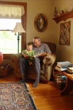 papa and garrett