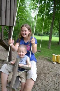 Gabby and Garrett