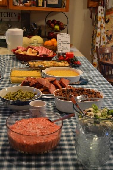 Glorious Christmas Dinner
