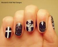 Nail Art Crosses | Joy Studio Design Gallery - Best Design