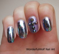 Cross Nail Art  WonderfulWolf