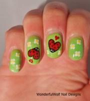 bug nail art wonderfulwolf