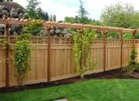 Building A Wooden Fence  Wonderful Woodworking