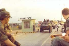 Udon Royal Thai Air Force Base. Where Ron was stationed in Vietnam War.