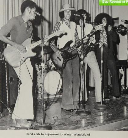 Band at Westchester High, 1975