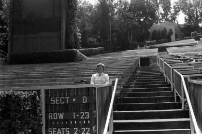 Hollywood Bowl, 1981.