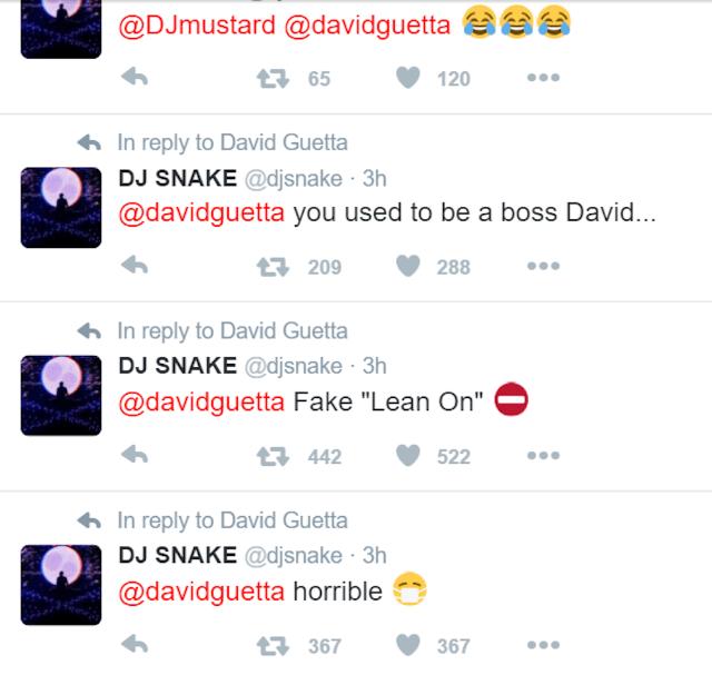 """DJ Snake acusa David Guetta de copiar a música """"Lean On"""""""