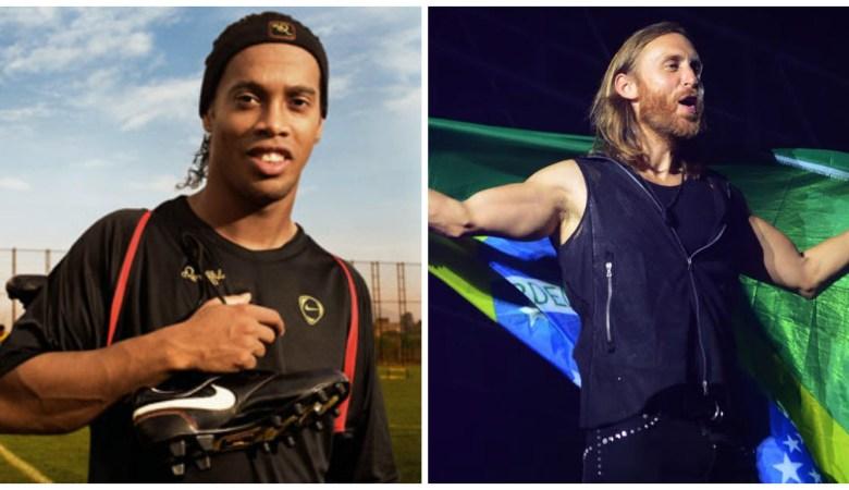 Ronaldinho Gaúcho comenta sobre futuro projeto com David Guetta