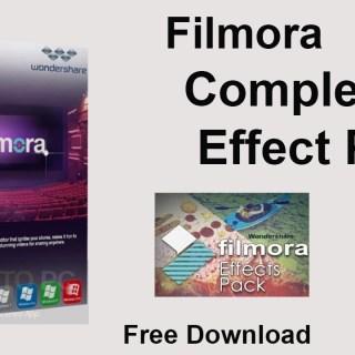Wondershare Filmora Effects Pack Free Download [macOS]