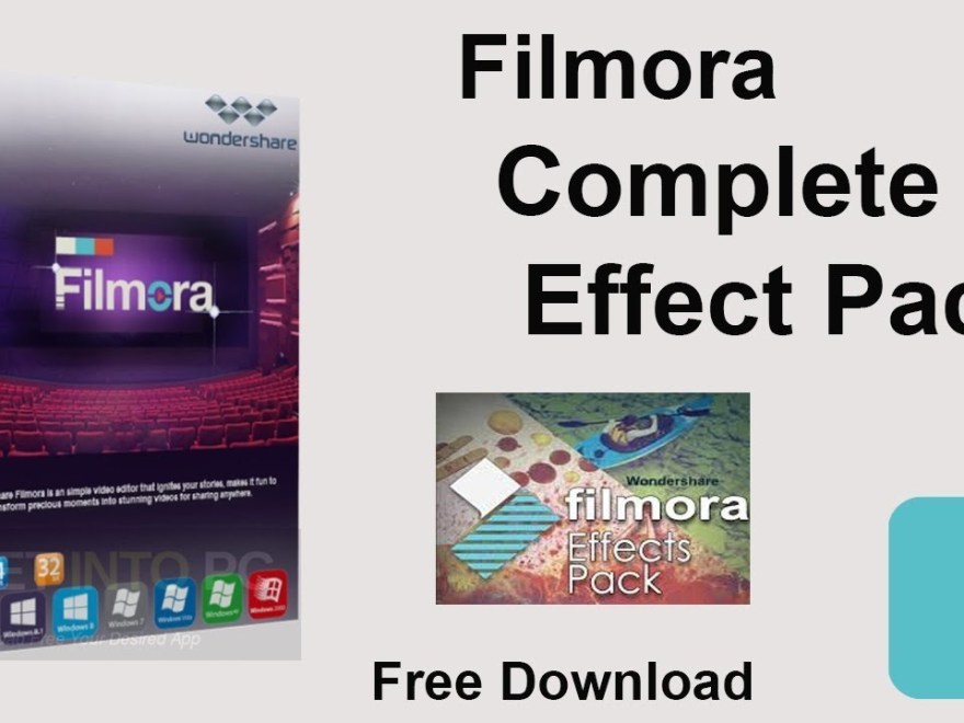 Wondershare Filmora Effects Pack Free Download [macOS]