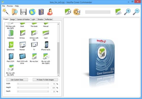 Insofta Cover Commander 6.8.0 Crack Serial Key