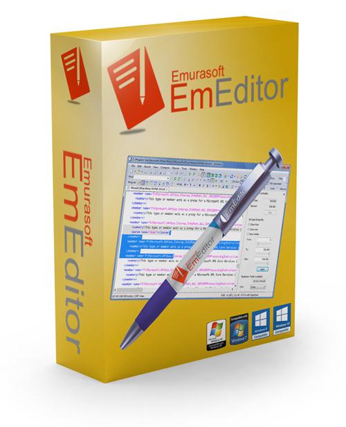 Emurasoft EmEditor Professional 21.0.1 Crack with Keygen