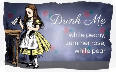 """""""Drink Me"""" Tea from Alice's Adventures in Wonderland"""