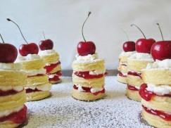 Arrietty's Mini Cherry Cakes