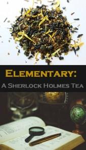 Elementary: A Sherlock Holmes Tea!