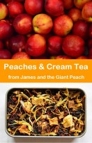 Peaches and Cream Tea from James and the Giant Peach!