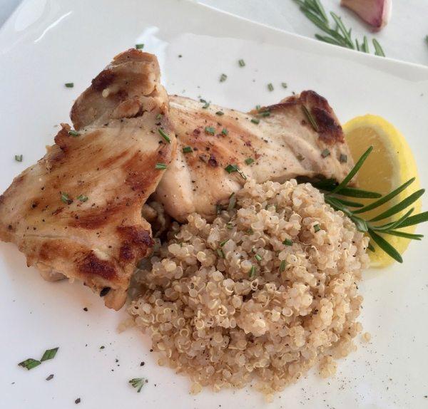 Rosemary Lemon Boneless Chicken Thigh Recipe