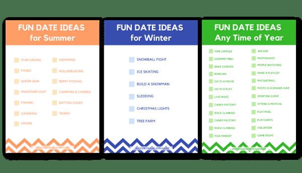 fun date ideas for