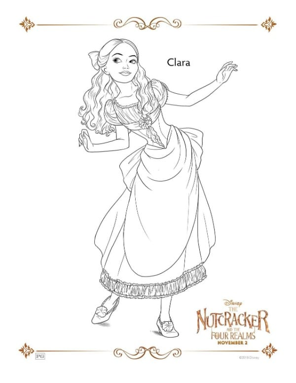 The Nutcracker Coloring Pages and Activities