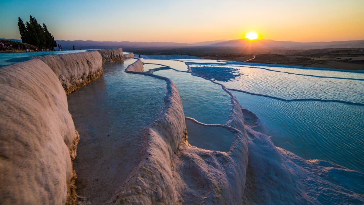 Pamukkale Thermal Pools  Turkey  WonderOUT