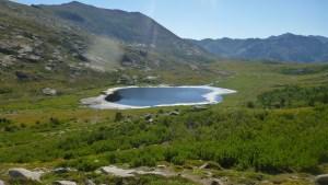 L'arrivée au lac de Nino, splendide!