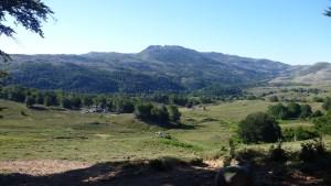 La plaine et la montée du Mont Incudine