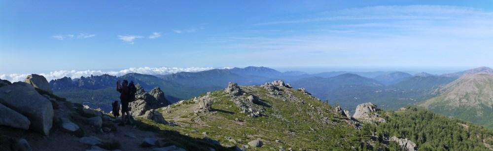 Panorama près des aiguilles de Bavella